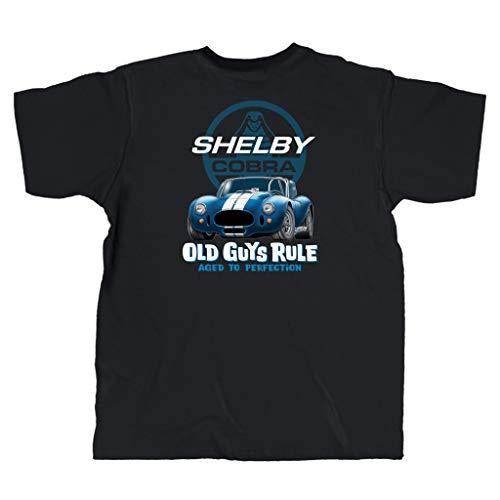OLD GUYS RULE Men's Shelby 427 Cobra T-Shirt (XX-Large) Black