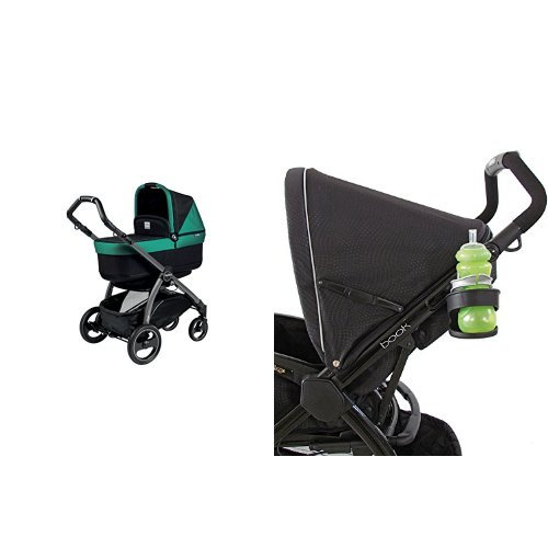 Peg Perego Book Pop Up Stroller and Stroller Cup Holder, Cha