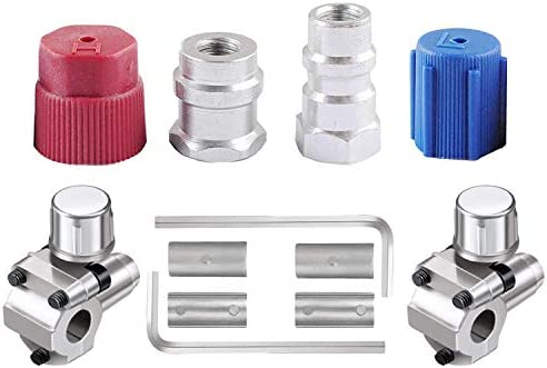 R12 to R134a Adapter wadoy R12 to R134a Conversion Kit R12 to R134a Retrofit Kit