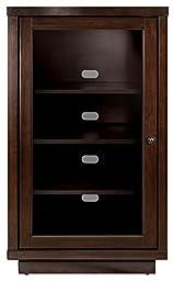 Bell\'O ATC402 Audio Video Component Cabinet, Dark Espresso