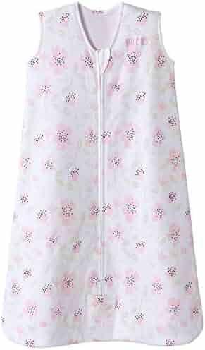 Halo Sleepsack Cotton Wearable Blanket, Wildflower Blush, Large