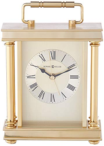 Howard Miller 645-584 Audra Table Clock (Seiko Brass Clock)