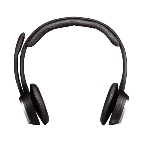 Logitech ClearChat Wireless USB Headset - Black