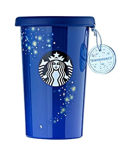 해외 한정 스타벅스 썸머 나이트 스테인레스 텀블러 스타벅스 Starbucks SS Mercury Summer Night Firefly Tumbler 355ml   (Summer Night)