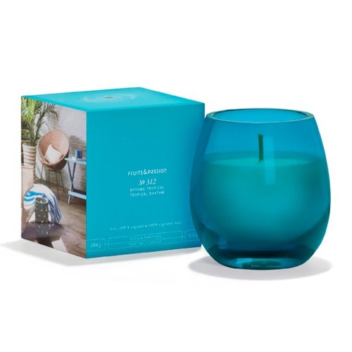 Fruits & Passion's Perfumed Candle, Fruits of the Orchard, Aura Collection, 165 G