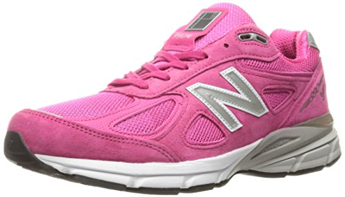 (New Balance Men's M990KM4 Running Shoes, Komen Pink, 9 D US)