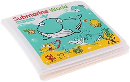 お風呂 おもちゃ 防水 ベビー 子供 シャワー バス 早期教育 おもちゃ 本 3種選べる - 潜水艦世界