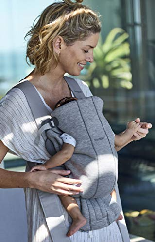 BABYBJORN Baby Carrier Mini in 3D Jersey, Light Grey by BabyBjörn (Image #7)