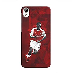 Cover It Up - Alex Iwobi Red Desire 826 Hard Case