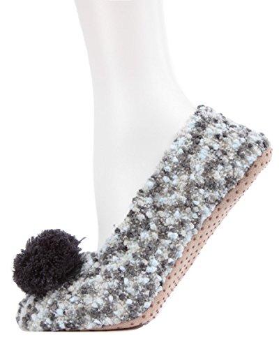 slip Non Mix with Asphalt pompom MeMoi slippers Mwf 000090 ZAnx5qB