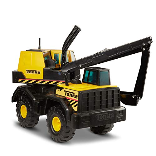 (Tonka 93931 Classic Steel Backhoe Vehicle)