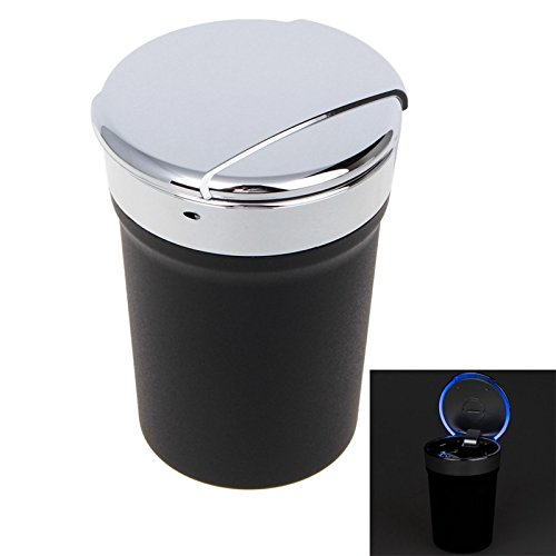 Fashion Universal Portable Cup Style LED Ashtray Smokeless for Car Home Use