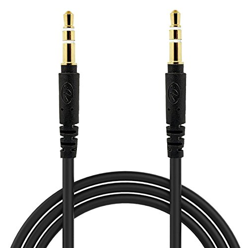 8120 Stereo (BargainPort Black Color Universal 3.5mm Auxiliary Stereo 4 Feet Round Shape Aux Pure Audio Cable For BlackBerry Pearl 8100 8110 8120 8130)