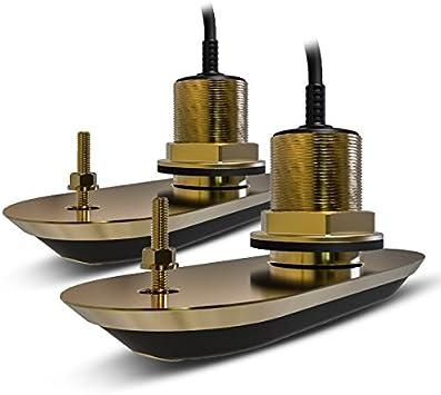 Raymarine RV312 Axiom RV-312 RealVision 3D-Par de transductores divididos (plástico, 12 º), Negro, Small: Amazon.es: Deportes y aire libre