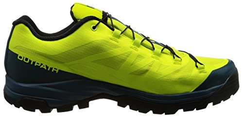 Grün Punch Salomon 5 Wanderhalbschuhe Outpath amp; Herren Lime Pond Reflecting GTX Trekking UK 12 490 Black Grün qvpqwBr