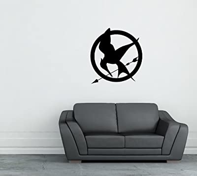 Mockingjay Hunger Games Vinyl Die-cut Wall Decal Sticker Home Decor