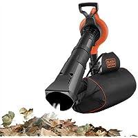 Black&Decker GW3030BP-QS GW3030BP-QS-Aspirador, soplador, triturador de Mochila, 3000