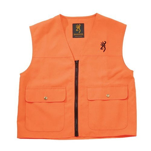 Browning Safety Blaze Overlay Vest Blaze, Large