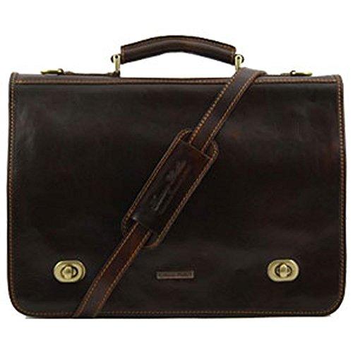 Tuscany Leather, Borsa a spalla uomo Marrone marrone