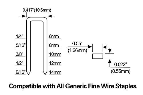 Freeman PFWS Professional Fine Wire Stapler 20 Gauge - Hardware ...