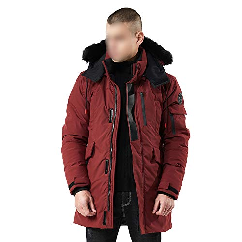 BE-MY-GUEST Winter Parkas Men New Jacket Coats Warm for sale  Delivered anywhere in USA