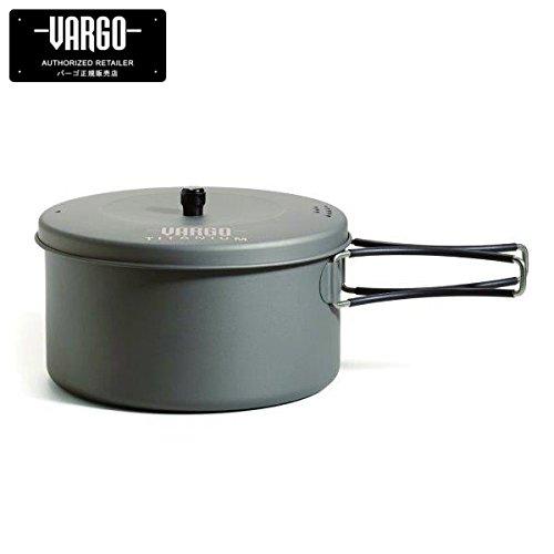 vargo(バーゴ) 【正規輸入店】1.3Lチタニウムポット T-426 B079FHKJ8G