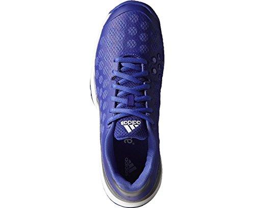Barricade Bianche Uk2 Blu Scarpe 9 Court Junior Adidas 5naw7Zz