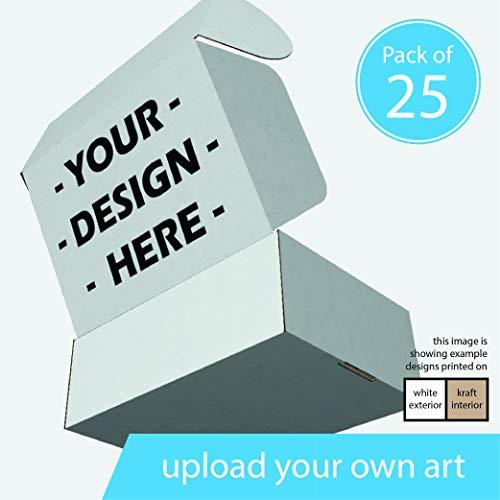 Custom Printed Corrugated Cardboard Box-Mailer 11 x 8 x 4