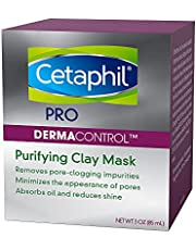 Cetaphil Pro Dermacontrol Purifying Clay Mask With Amazonian & Bentonite clay - for oily, sensitive Skin - dermatologist Recommended, 85g