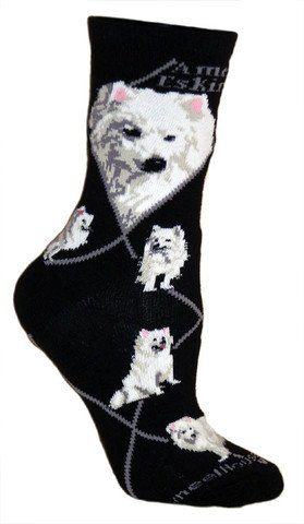 Animal Socks On Black 9-11 ()