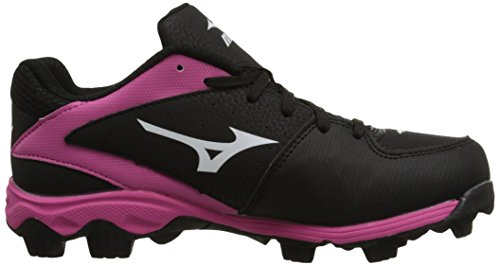 Youth Advanced Black 9Spike Franchise Shoe Softball 6 Mizuno Finch Pink 8Sqg54w8Y