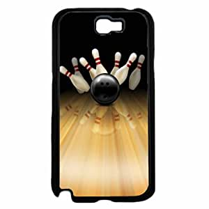 Bowling Pins - Phone Case Back Cover (Galaxy Note 2 - TPU Rubber Silicone)