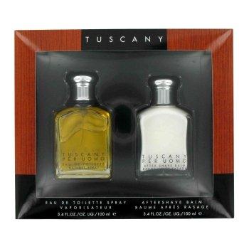 TUSCANY by Aramis Gift Set -- 3.4 oz Eau De Toilette Spray 3.4 oz After Shave Balm Men