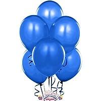 PMU Balloons 12 Inch PartyTex Premium Blue Latex Pkg/15