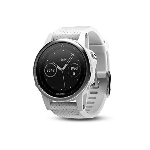Garmin Fenix 5S White With Carrara White Band, One Size