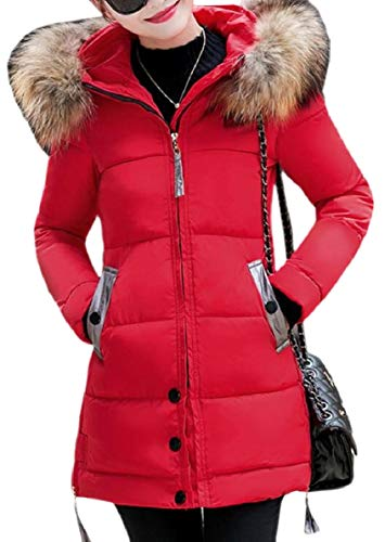Used, FLCH+YIGE Women's Hoodie Parka Faux Fur Trim Winter for sale  Delivered anywhere in USA