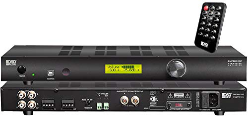 Price comparison product image OSD Audio SMP500 Mono-Channel Class D Subwoofer Amplifier with Onboard DSP 400W 4 -8 Ohm