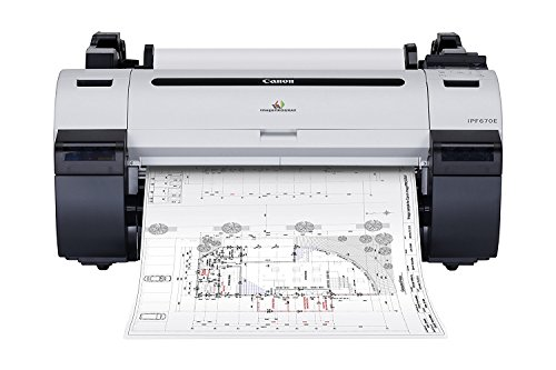 (Canon imagePROGRAF 670e Large Format Color Inkjet Printer)