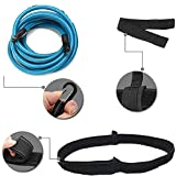 Julvie Swim Training Belts,4M Swimmer Swimming Training Equipment Swim Tether Ankle Strap Stationary Belt Fixed Swimming Harness Static Swimming Exercise Belt Tether