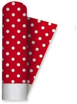 Big Party Nappe Papier Rouleau 1,2/x 5mt Pois Rouge