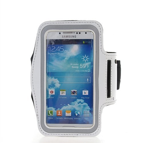 BCSLINE Sports Armband Premium Running Sportss Gym Workout Case/Cover For SAMSUNG Galaxy Mega 5.8/I9158, Cleaning Cloth Free Gift.