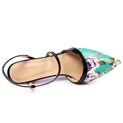 Sandali Mode Donna Slingback Blue Zanpa wXA4qxx