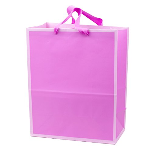 Hallmark Large Light Pink Gift Bag (Mother's Day, Birthdays, Baby Showers, All Occasion) -