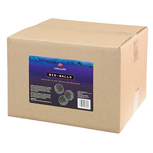 Dry Filter Wet 125 - CoraLife Bio Ball Aquarium Filter, 5-Gallon