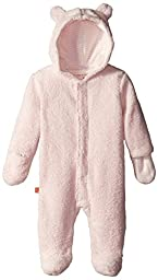 Magnificent Baby Baby-Girls Hooded Fleece Pram, Pink Icing, 12 Months