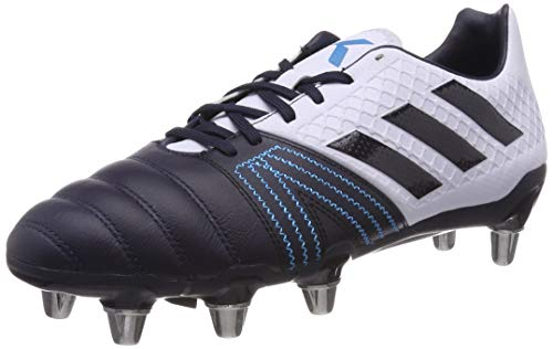 (adidas Kakari Elite SG Rugby Boots, Blue, US 12.5)