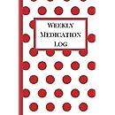 weekly medication log medication log book medication log sheet