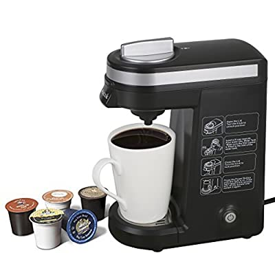 Aicok K-cup Coffeemaker Compact Single Serve Coffee Brewer by Aicok