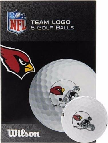 Wilson Arizona Cardinals Golf (2015 Wilson Staff Team Logo Arizona Cardinals NFL Golf Balls)