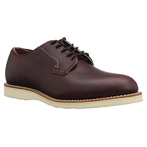 Red Wing Heritage Men's Postman Oxford Work Shoe, Oxblood Mesa, 9 US/9 D US (Red Chukka Wing)